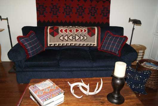 Crystal Trading Post Ganado Navajo Rug For Sale Photo 1