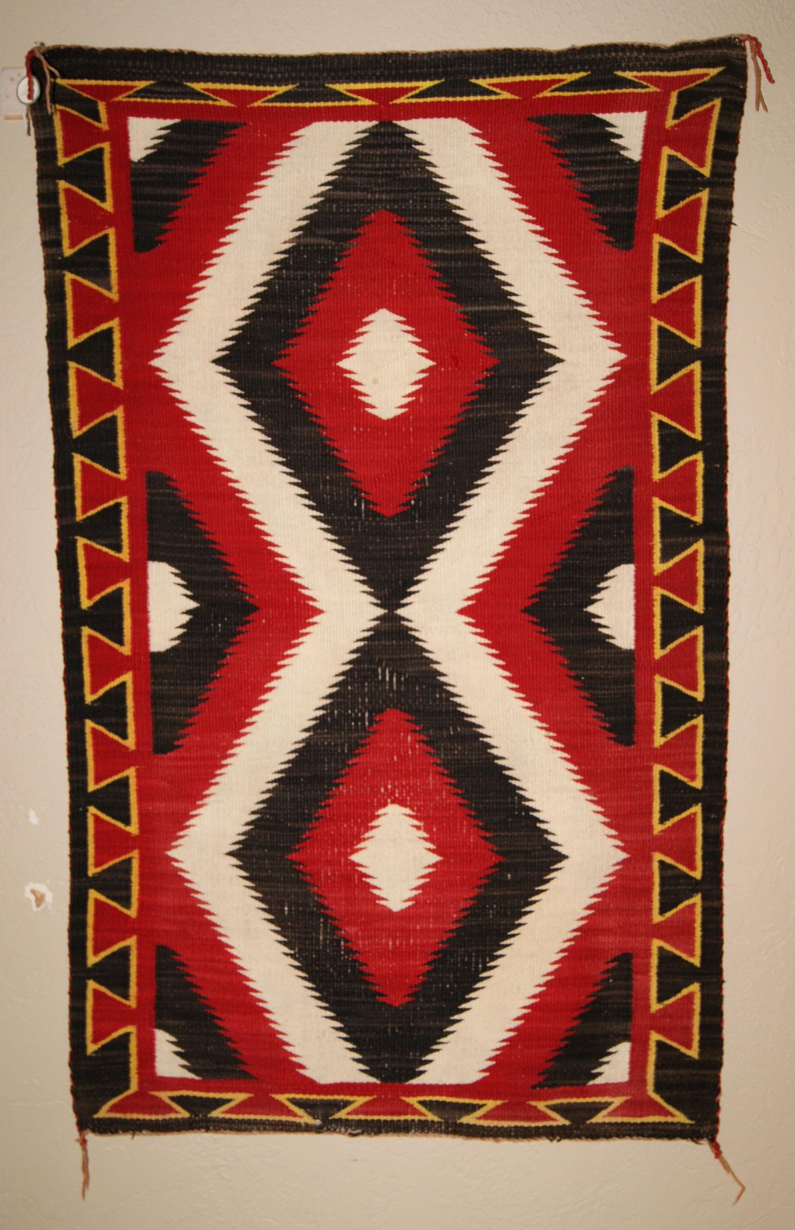 Ganado Navajo Saddle Blanket