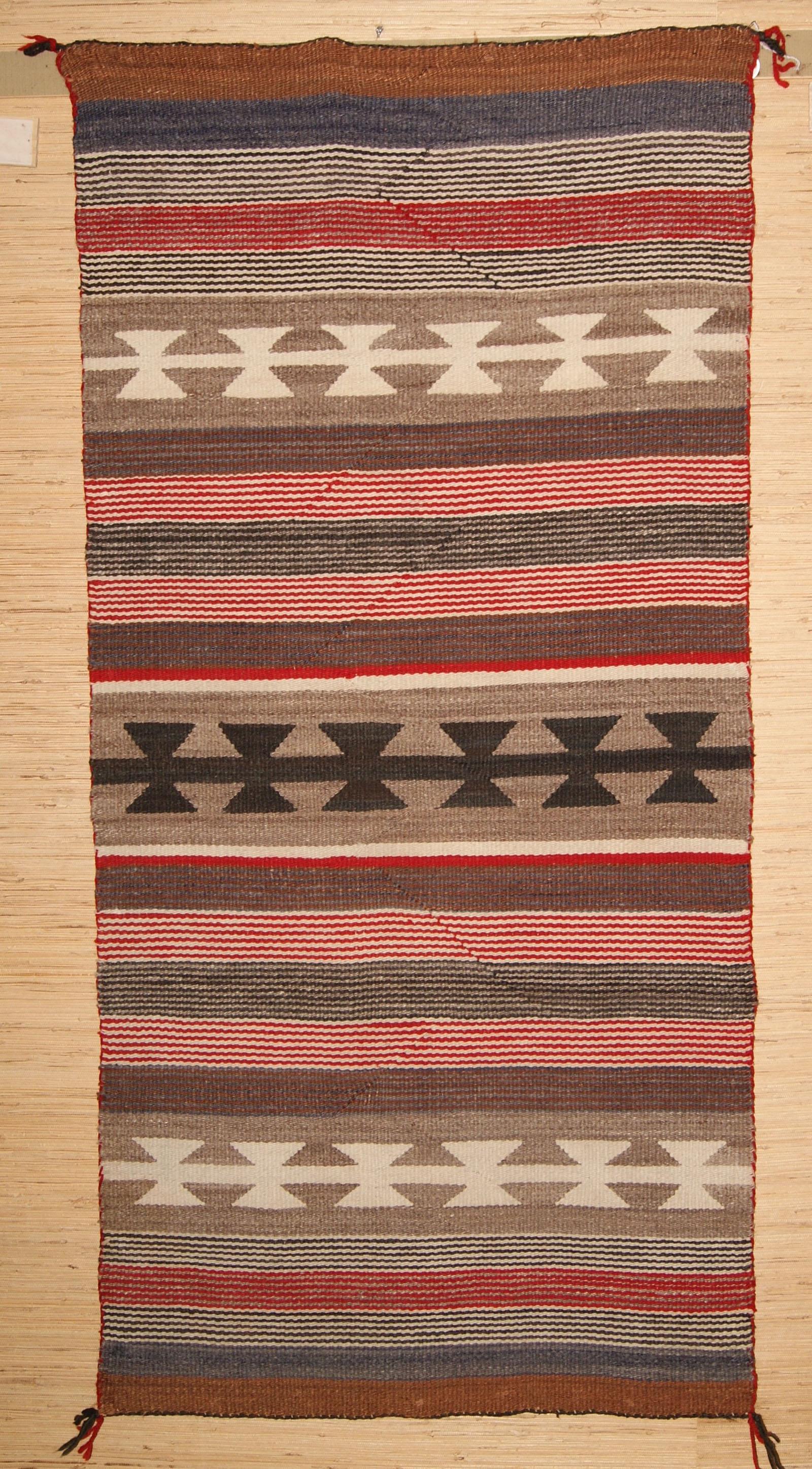 Saddle Blanket From The Lukachukai Area
