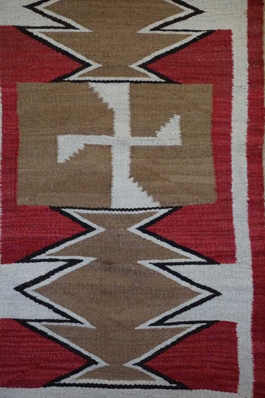 Ganado Navajo Rug 213