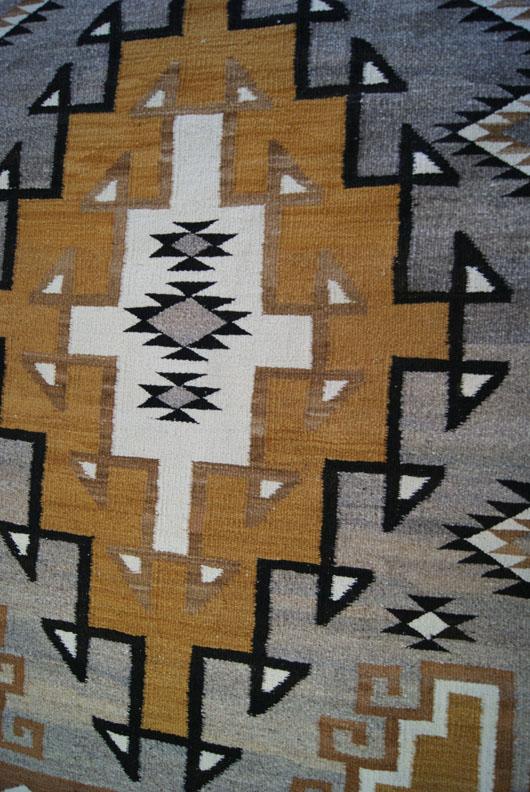 J B Moore Crystal Trading Post Navajo Rug 235 Charley