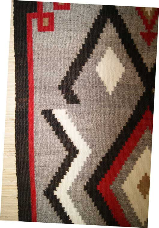 Exceptional ... Klagetoh Table Runner Navajo Weaving ...