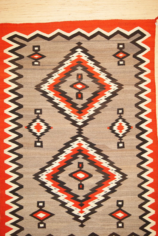 J. B. Moore Crystal Trading Post Catalog Variant Of Plate III Of 1903 Catalog And Plate XX 1911 Navajo Rug