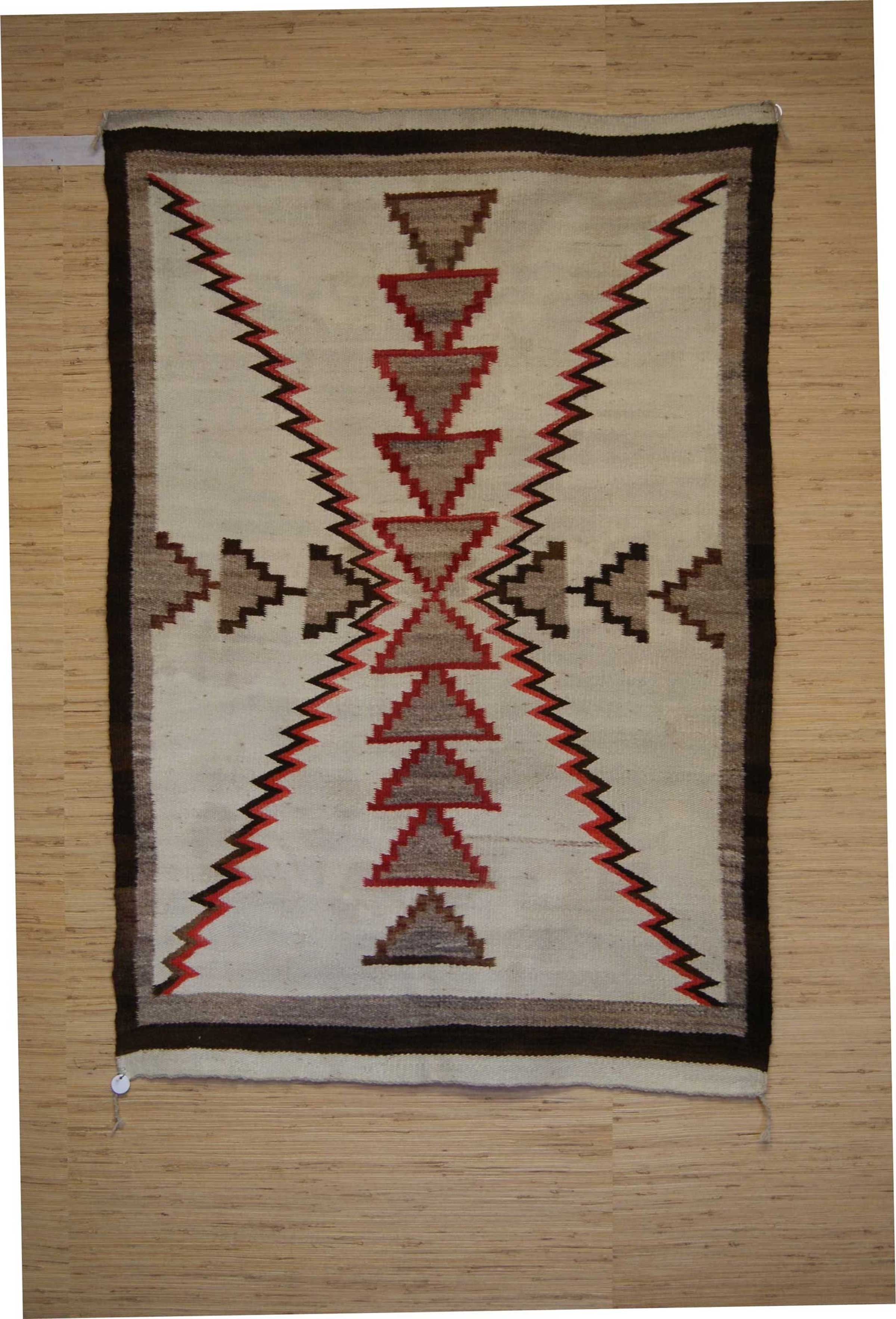 Regional Storm Pattern Navajo Weaving 331 Charley S