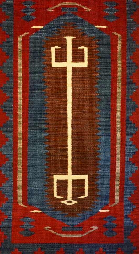 Hero Twins Navajo Rug Weaving for Sale