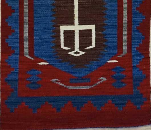 Hero Twins Navajo Rug Weaving for Sale