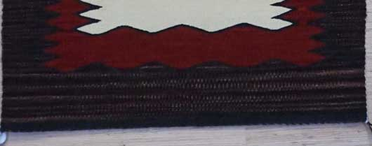Single Yei Navajo Rug Weaving for Sale