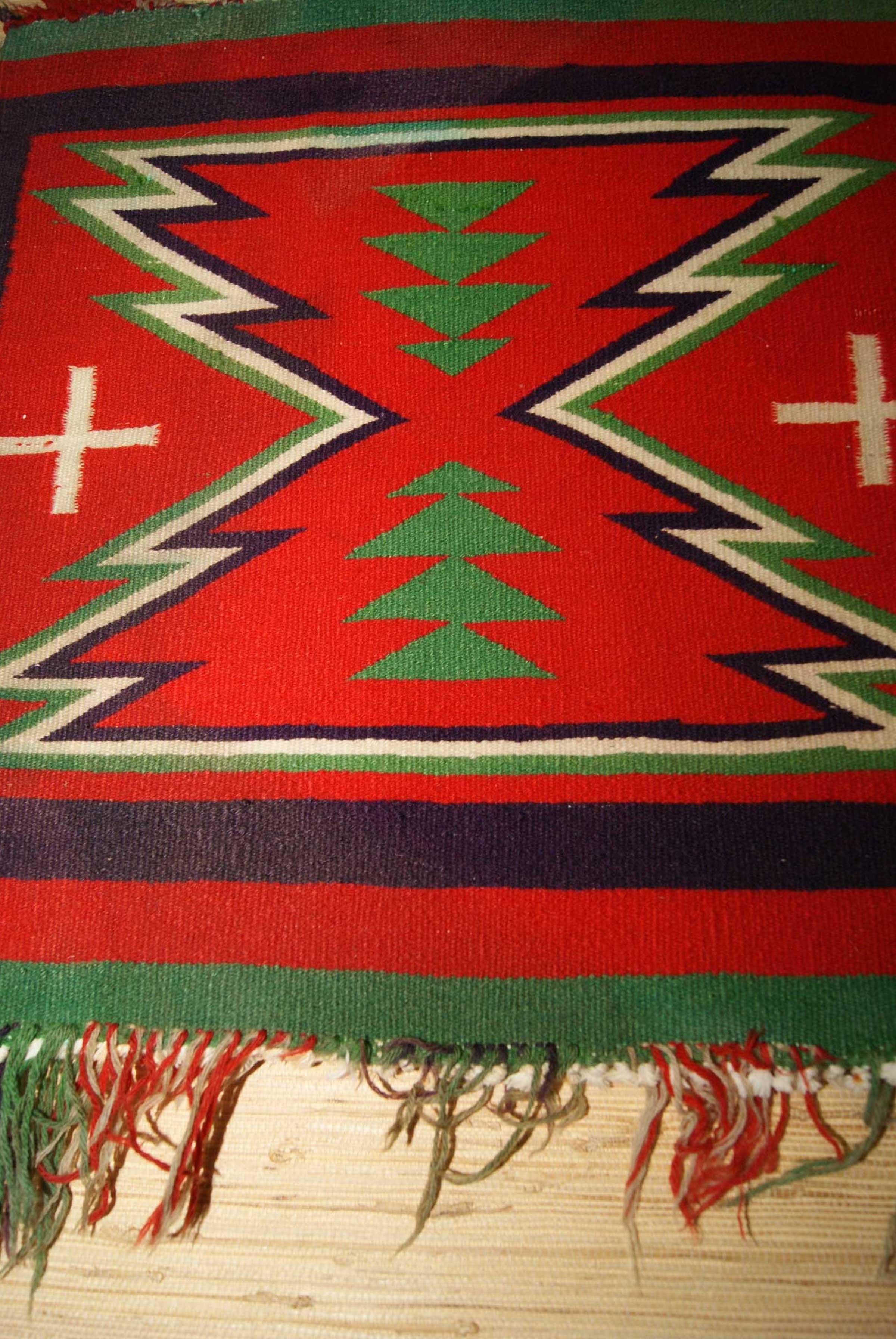 Germantown Sampler Navajo Weaving