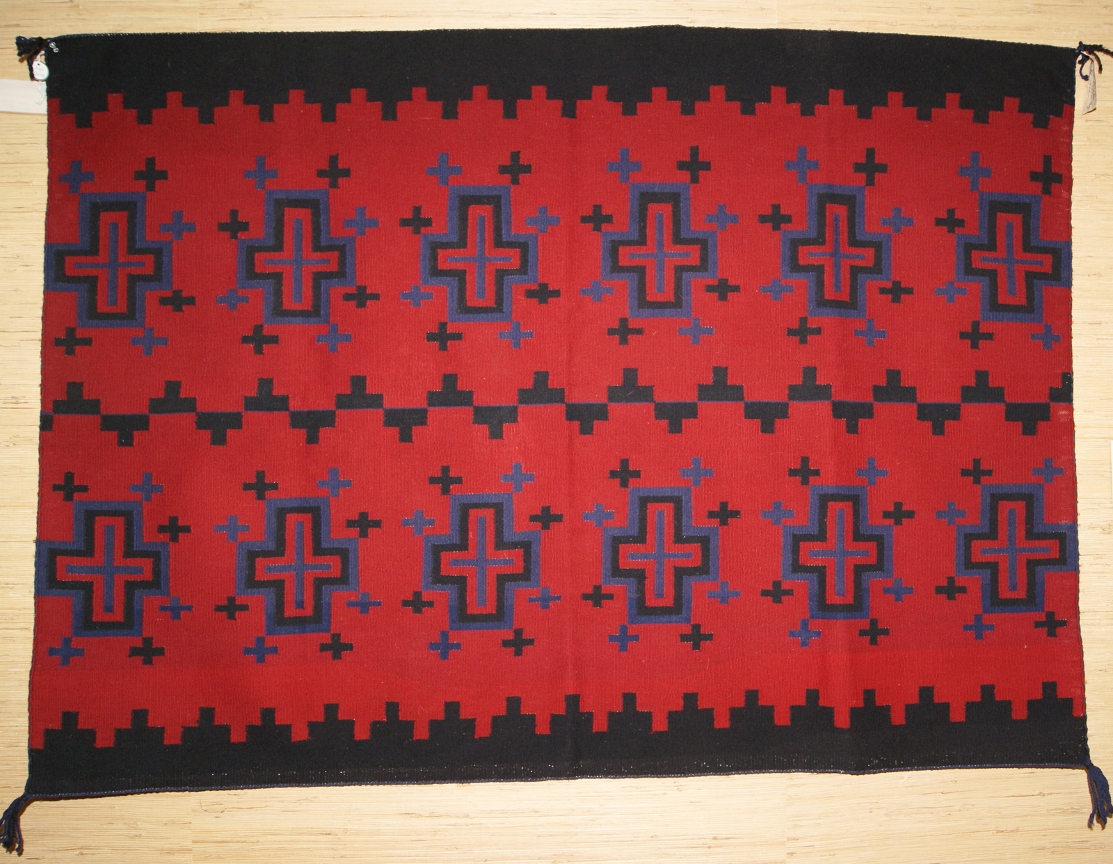 Classic spider woman crosses navajo blanket by betty joe 80s classic spider woman crosses navajo blanket by betty joe biocorpaavc Images