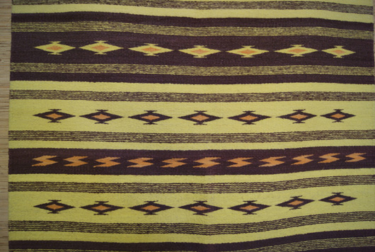 Wide Ruins Navajo Rug By Bah Yazzie (Ashley)