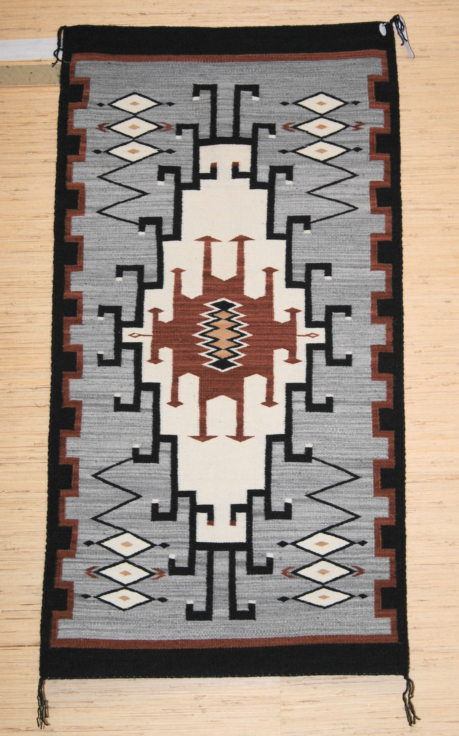 Old Style Crystal Navajo Rug Weaving By Gloria Hardy 462 Charley S
