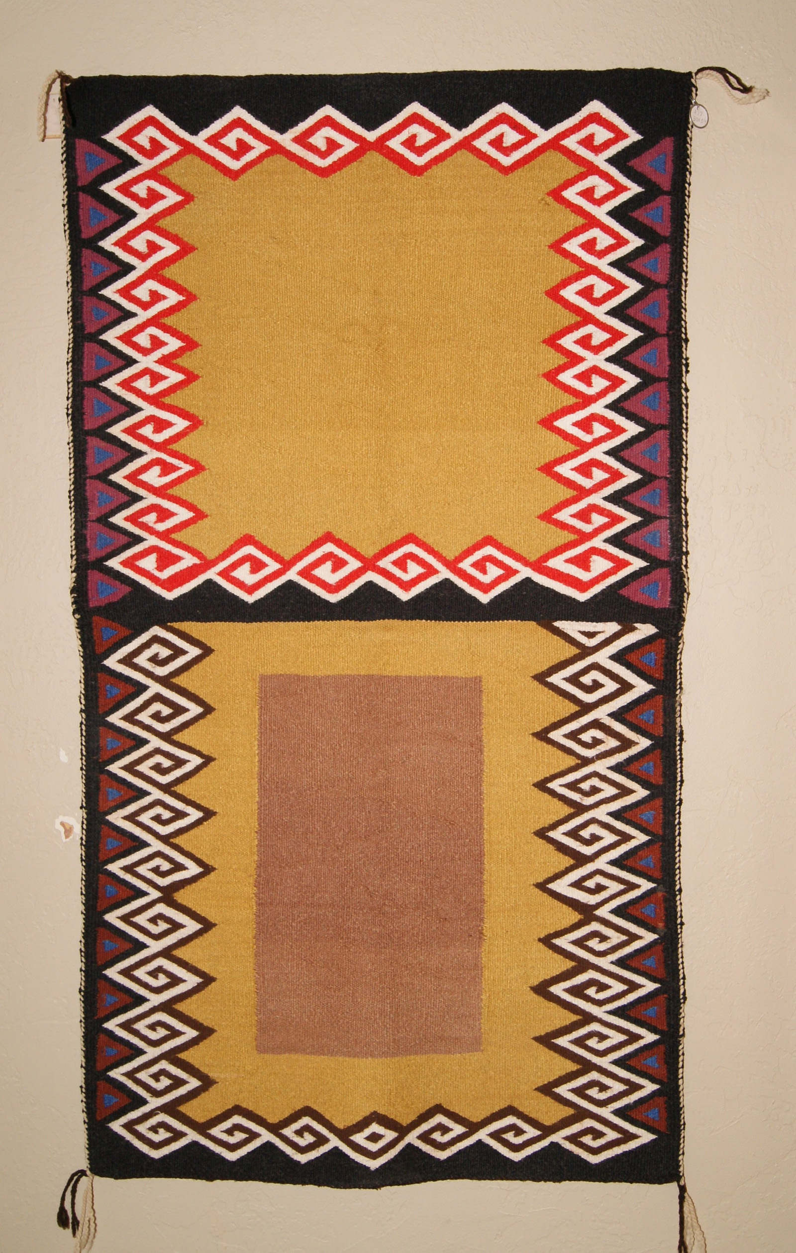 Open Field Navajo Double Saddle Blanket ...
