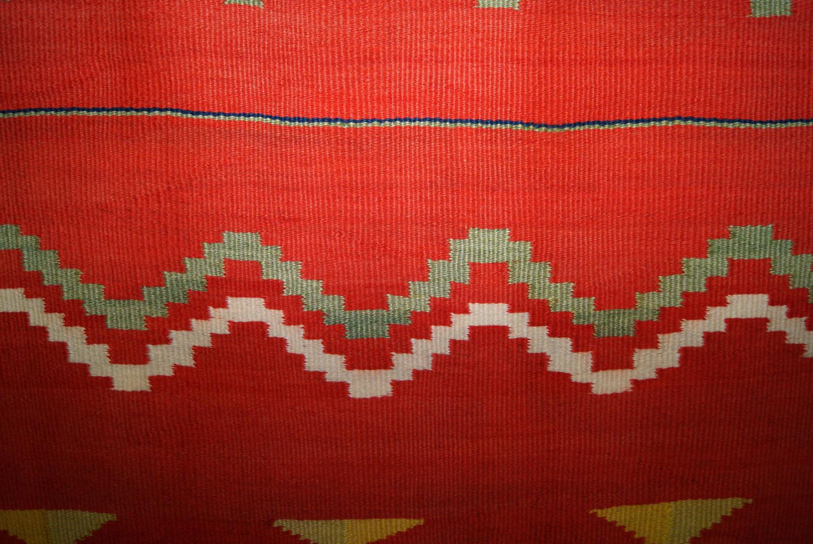 Transitional Navajo Blanket 1880