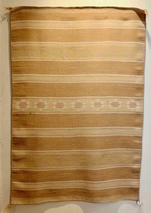Crystal Revival Childs Blanket Navajo Weaving 528