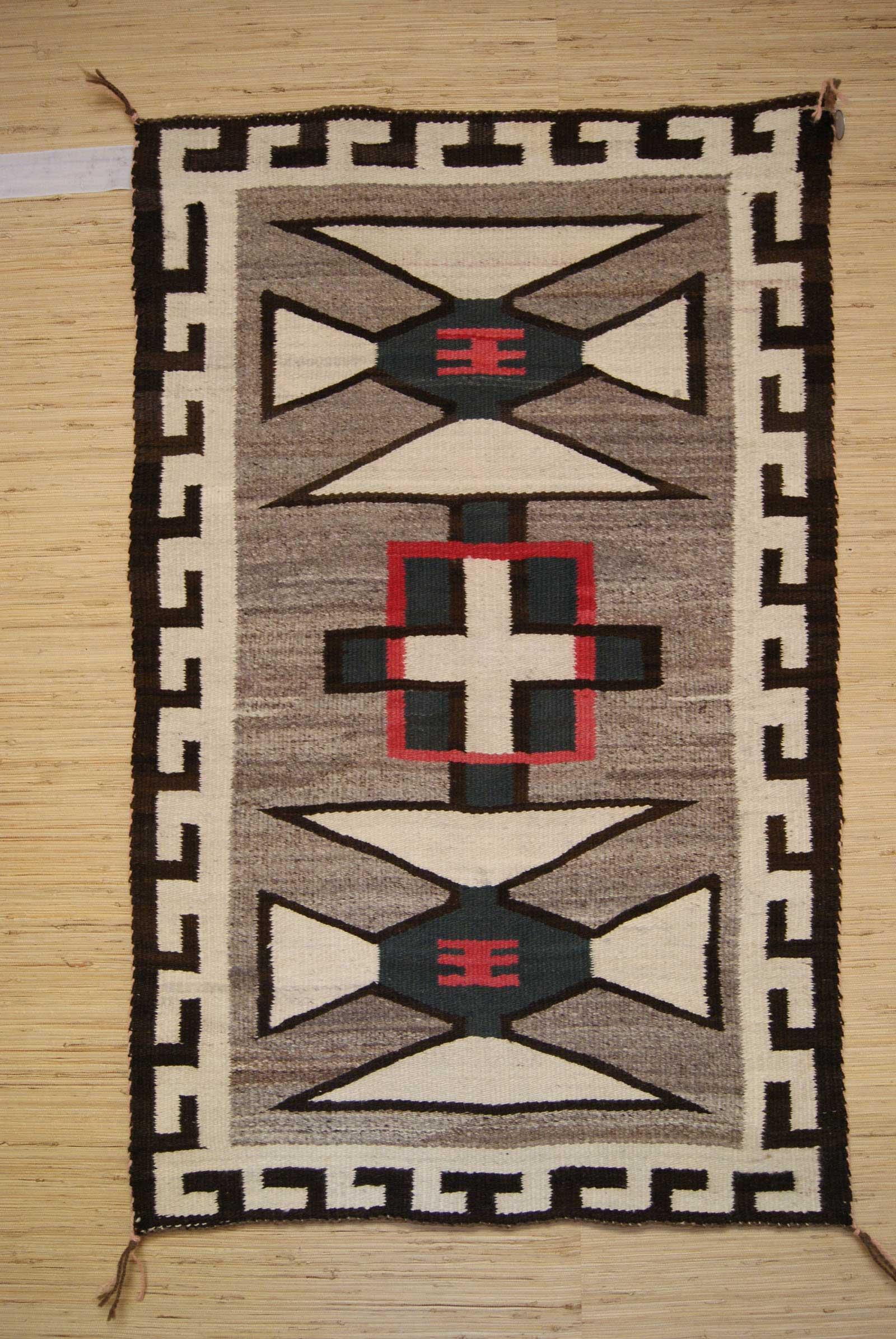 J B Moore Crystal Trading Post Navajo Saddle Blanket