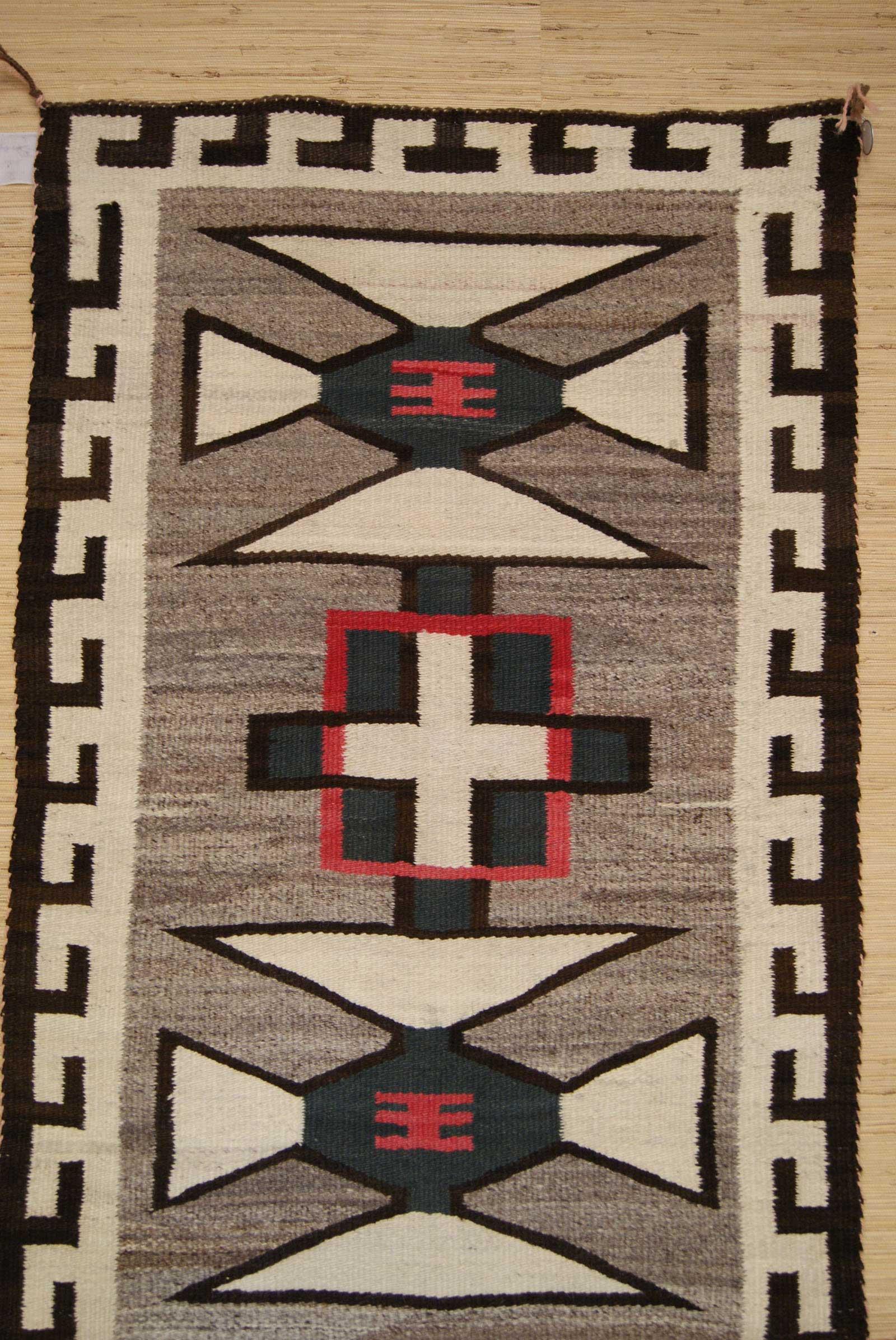 J.B. Moore Crystal Trading Post Navajo Saddle Blanket