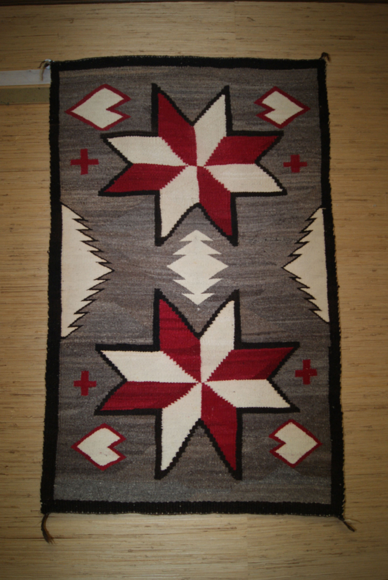 All navajo indian rugs and blankets for sale buy american indian navajo ganado double saddle blanket with two large valero stars biocorpaavc Images