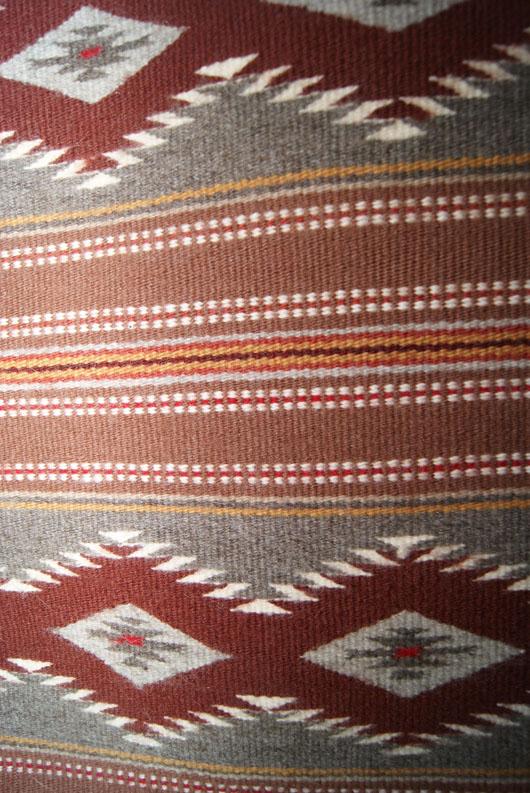 Wide Ruins Navajo Weaving Woven By Ellen Smith