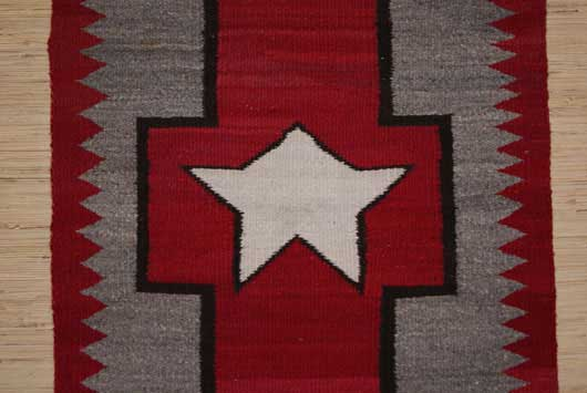 Navajo Great Star Weaving