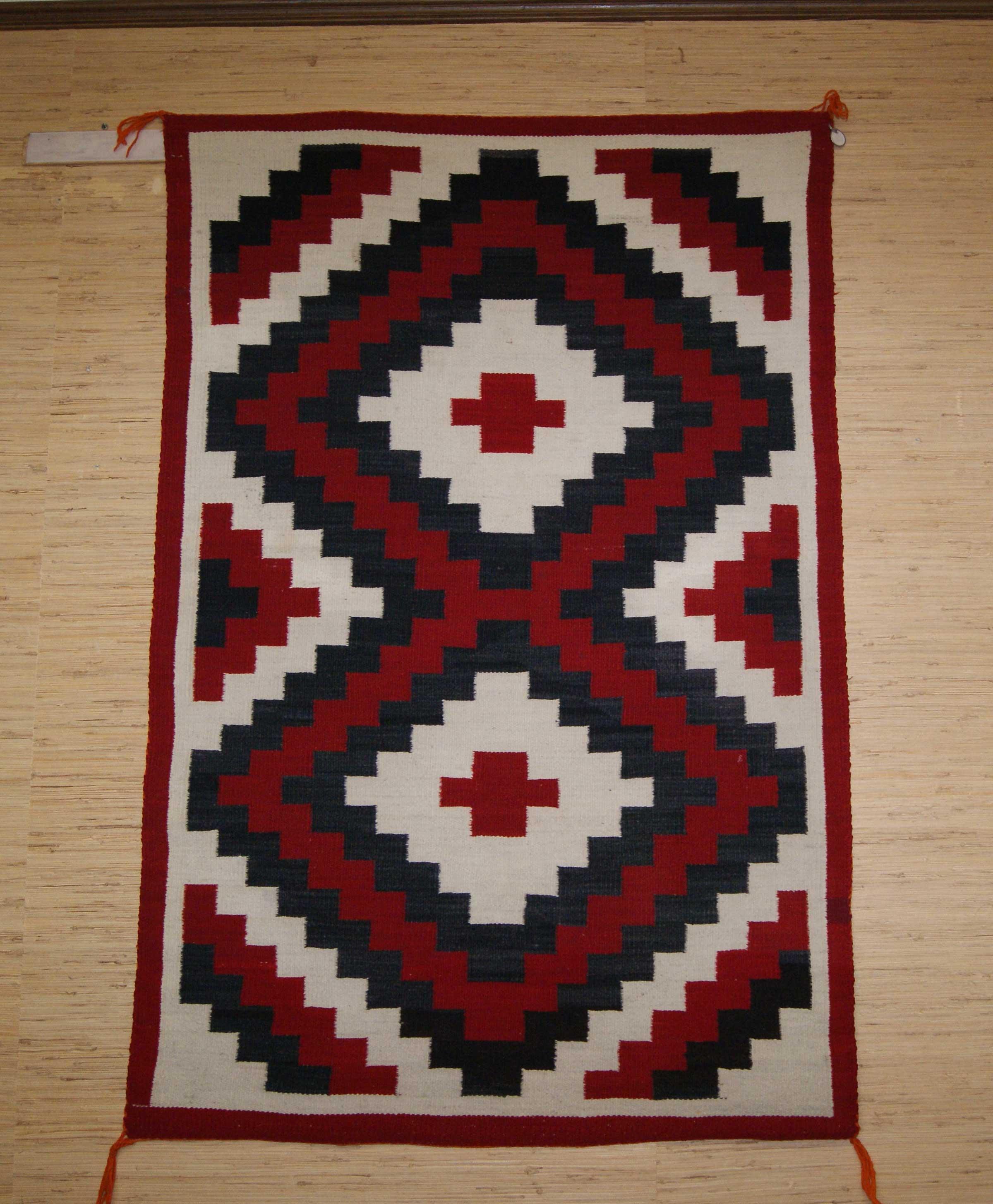 Circa 1977 Ganado Navajo Rug