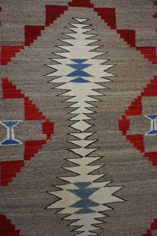 Ganado Navajo Weaving 663