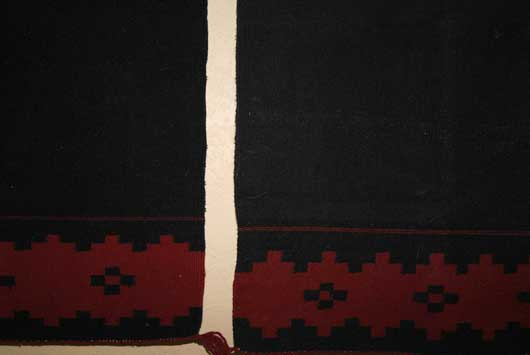 Two Navajo Dress Panels Not Connected Together