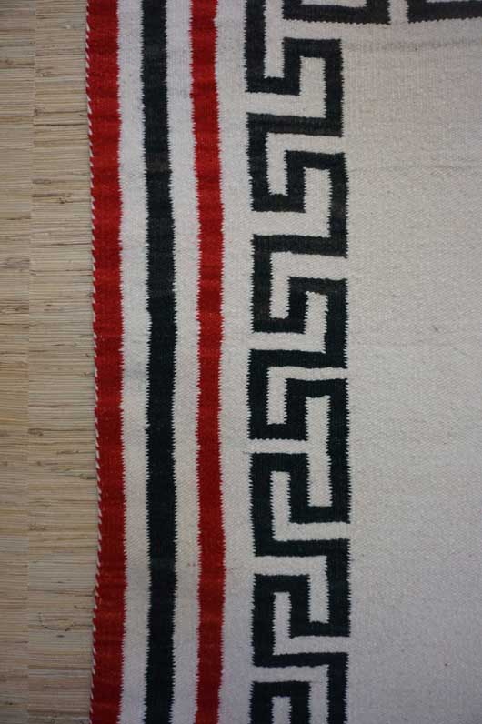 Navajo Double Saddle or Child's Blanket 682