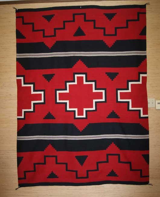 Moki Navajo Weaving