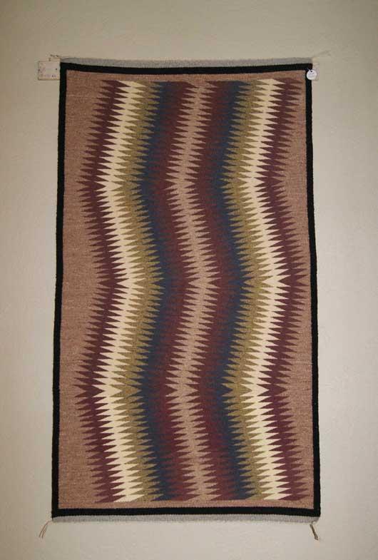 Eye Dazzler Navajo Weaving By Louise Tom 709 Charley S