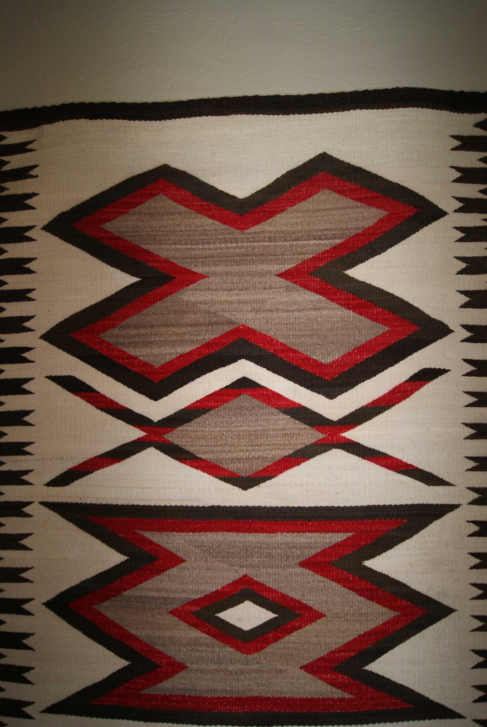 Jb Moore Crystal Trading Post Navajo Runner Rug
