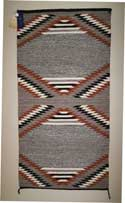 1965 Gallup Blue Ribbon Saddle Blanket by Nettie Martin
