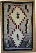 J B Moore Crystal Trading Post Navajo Double Saddle Blanket