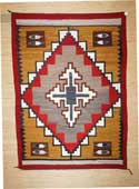 Pictorial Navajo Rug with Outstanding Colors