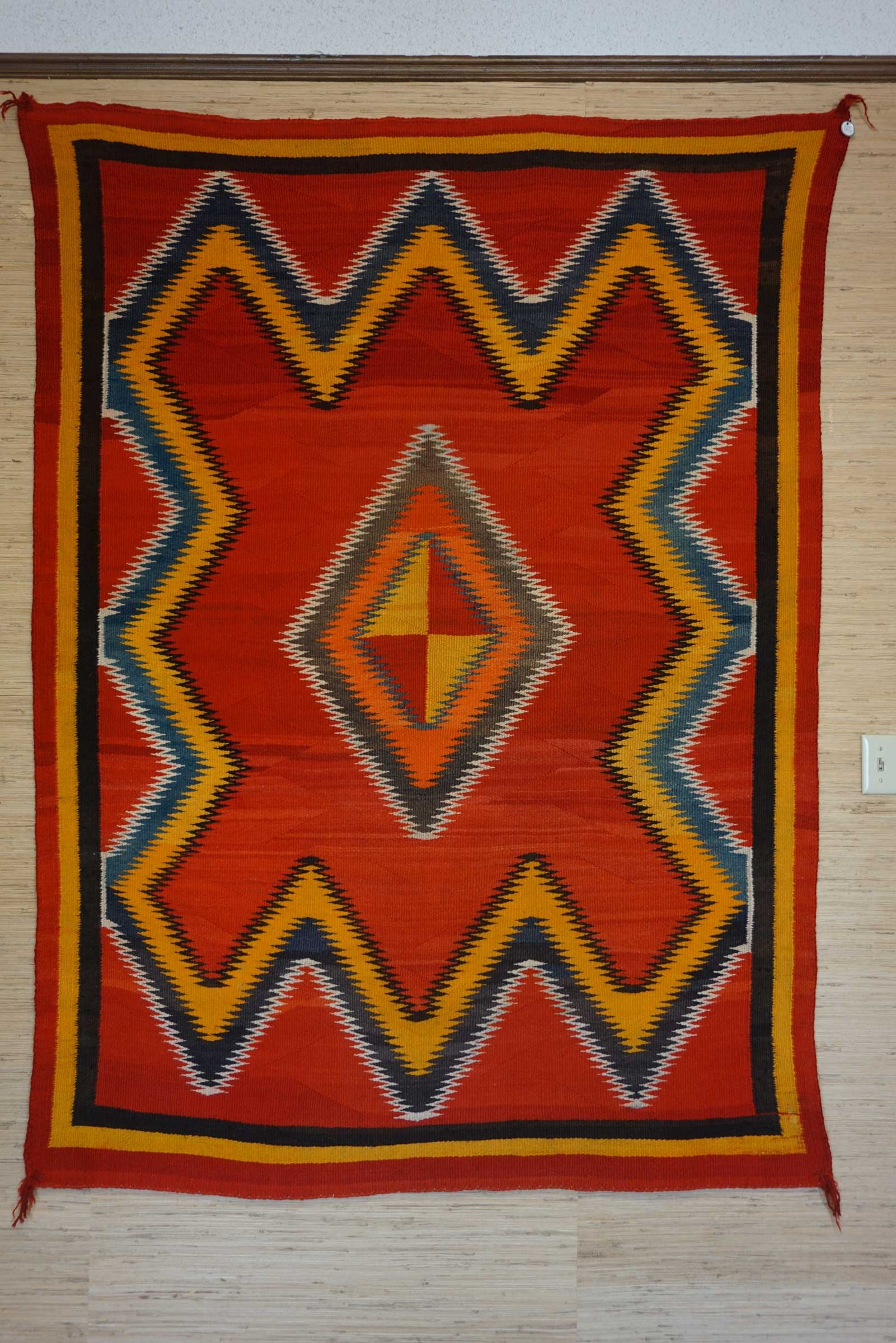 Red Mesa Transitional Navajo Rug