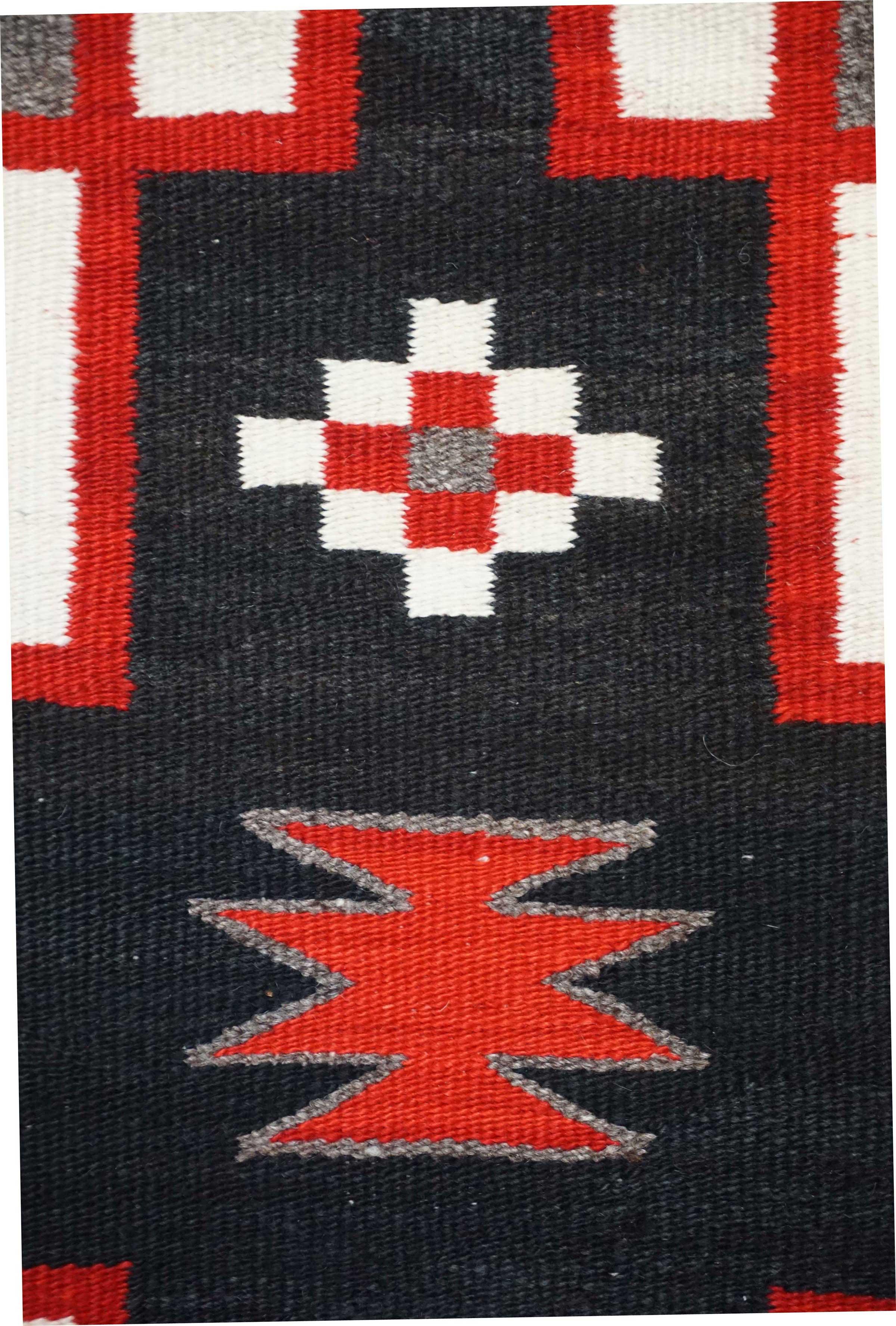 Jb Moore Crystal Trading Post Double Navajo Saddle Blanket 828