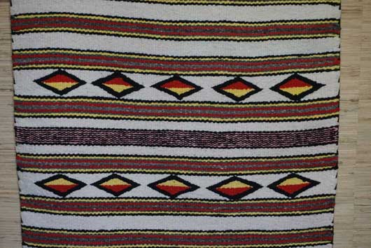Old Crystal Trading Post Double Saddle Blanket 831