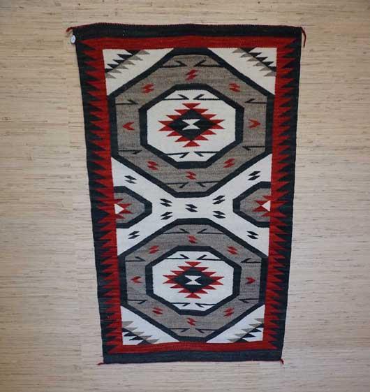 Ganado Navajo Rug