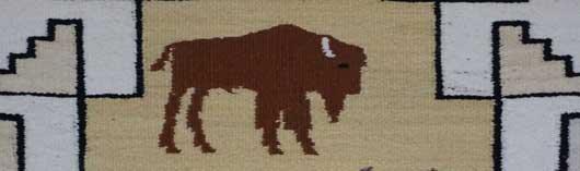 Navajo Pictorial Rug by Efre Black