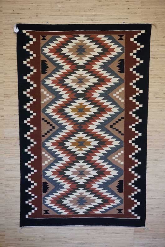 Eye Dazzler Navajo Rug