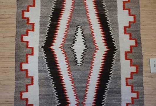 Red Mesa Navajo Rug