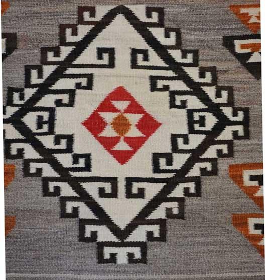Antique Crystal Navajo Rug 303