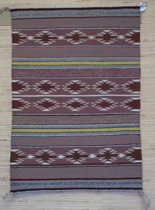 Banded Crystal Navajo Weaving 1089 Photo 001