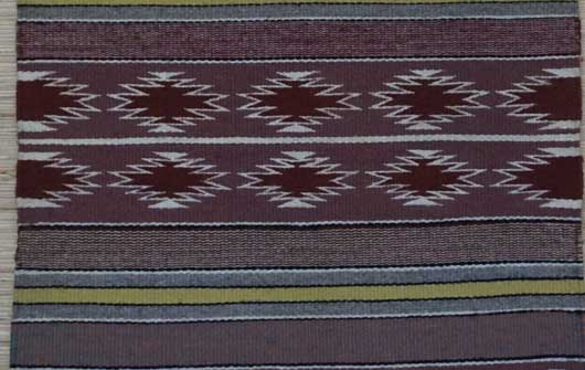 Banded Crystal Navajo Weaving 1089 Photo 002