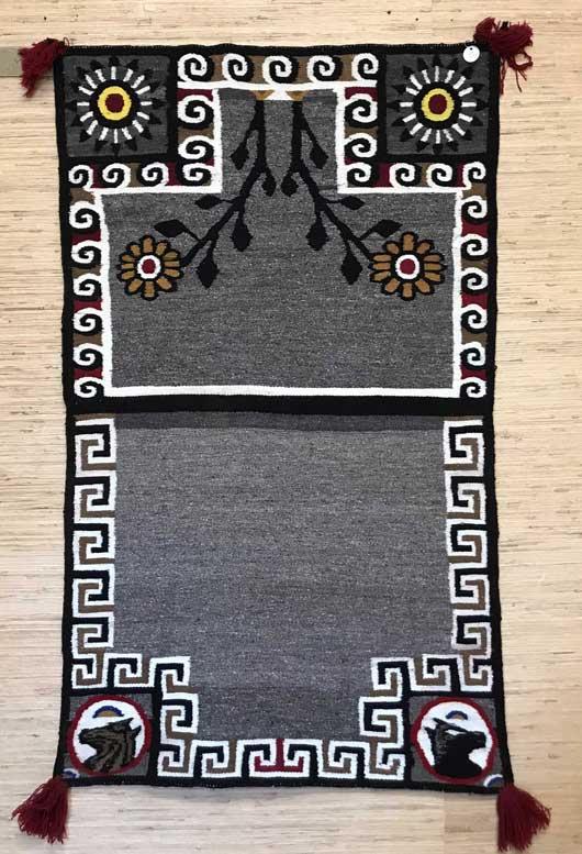 Bisti Double Navajo Saddle Blanket 625