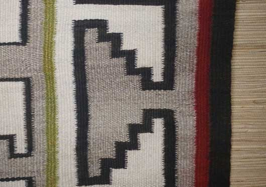 Bisti Green Navajo Rug for Sale 895 for Sale