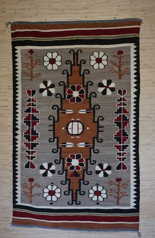 Great Old Bisti Navajo Rug For Sale August 2017 Rug Of The Month 809