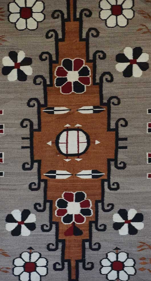Bisti Navajo Rug 809