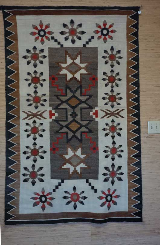 Bisti Navajo Rug Weaving