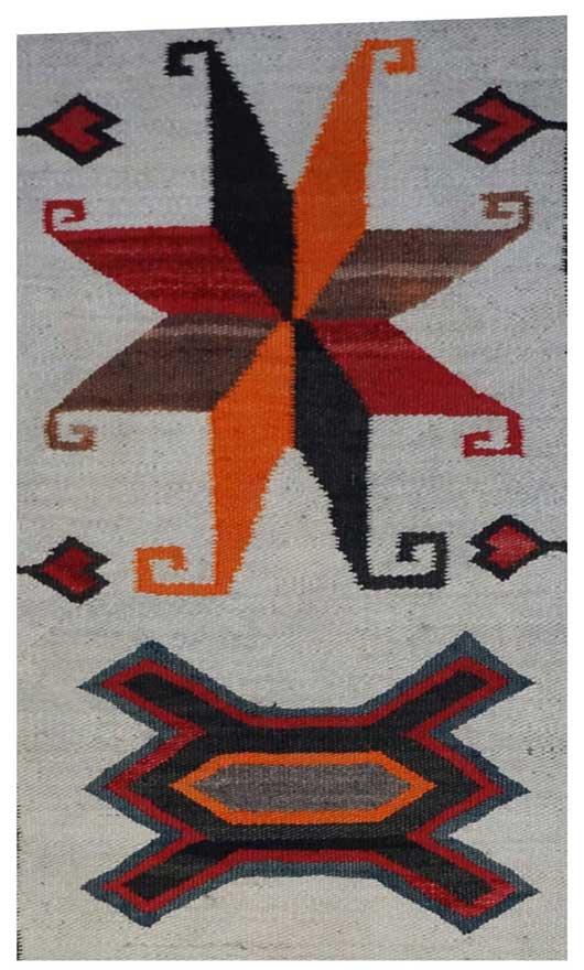 Bisti Navajo Rug Weaving for Sale 320