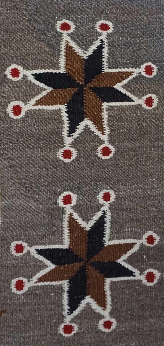 Bisti Navajo Rug with Cherries 743 Photo 002